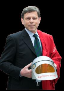 Alterssimulationsanzug AgeExplorer Gundolf Meyer-Hentschel